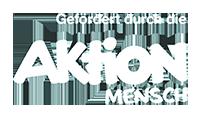 Logo 'Gefördert durch die Aktion Mensch'