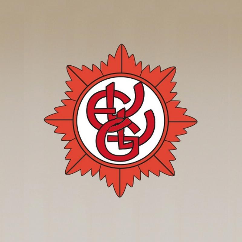 Ein Platzhalterbild, welches das Logo der Ehrengarde, den sogennanten Gardenstern zeigt.