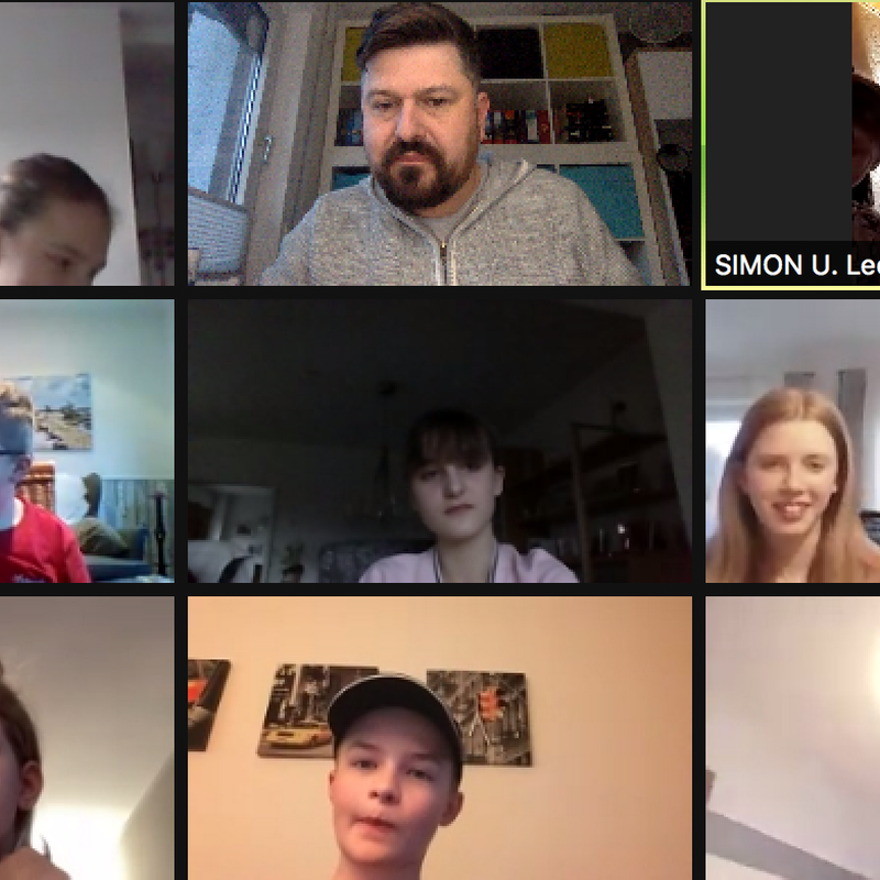 Das Zoom-Meeting zum diesjährigen Kehraus